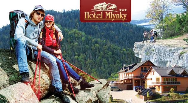 Fotka zľavy: Hotel Mlynky*** v Slovenskom raji v panensky krásnej prírode len za 33€. Objavte krásy a pokoj východného Slovenska!