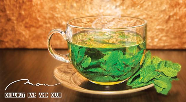 Fotka zľavy: Vyberaný čaj z čerstvej mäty či zázvoru len za 1,99€. Vychutnajte si ho v známom podniku MOU v centre Bratislavy!