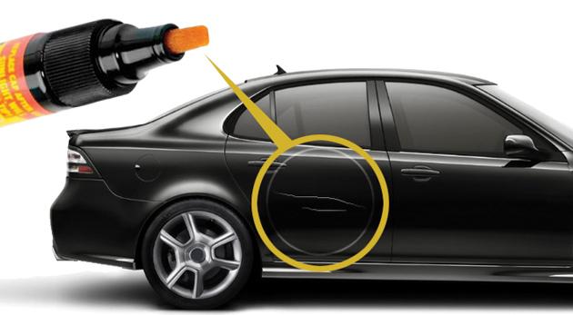 Fotka zľavy: Sada dvoch vodeodolných korekčných pier na opravu poškodeného laku na aute len za 2,20€. Profesionálny pomocník, ktorý šetrí čas i peniaze!
