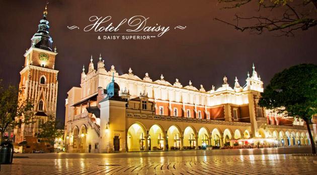 Fotka zľavy: Pestrý 3-dňový pobyt pre dvoch v Krakove. Hotel Daisy Superior*** za 83,90€ s raňajkami, vstupom do bazéna i sauny a s množstvom zliav.
