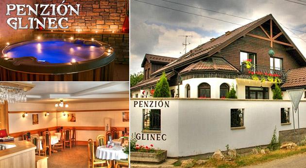 Fotka zľavy: Penzióne Glinec - vaša vstupná brána k 3- alebo 4-dňovému oddychu v termálnom jazierku či na turistike s polpenziou alebo raňajkami už od 68 € pre dvoch. Objavte skryté krásy východného Slovenska!