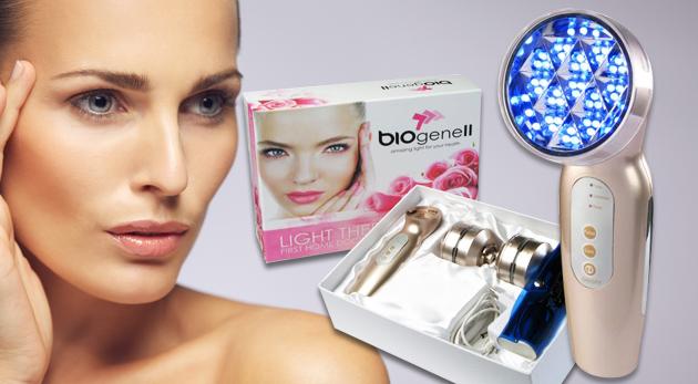 Biolampa Biogene II s polarizáciou a patentovanou zrkadlovou technológiou - vyskúšajte zázračné účinky svetelnej terapie len za 99€! V cene sú zahrnuté aj 4 farebné filtre.