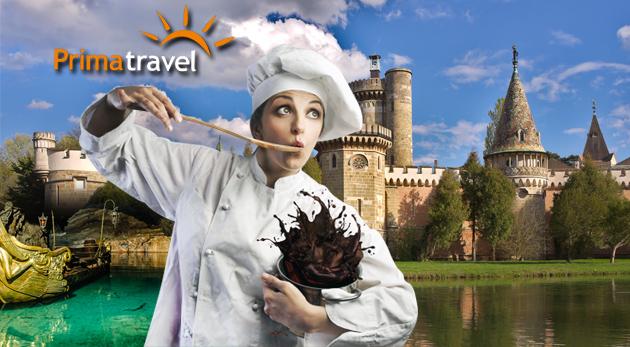 Fotka zľavy: Sladký výlet do Rakúska len za 18,90 €. Ochutnajte dobroty v čokoládovni Hauswirth, pozrite si zámok Franzensburg a užite si plavbu po najväčšom podzemnom jazere v Európe Hinterbruhl.