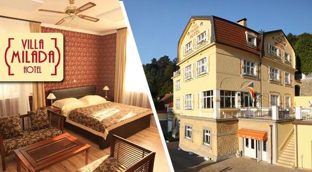 Fotka zľavy: Krásne tri alebo štyri dni v Prahe v luxusnom Boutique hoteli Villa Milada**** blízko centra mesta už od 145 € pre 2 osoby. V cene polpenzia i súkromné wellness.