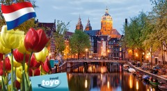 Zľava 30%: Vydajte sa na cestu za poznaním rozprávkového Amsterdamu, typického holandského skanzenu a preslávenej kvetinovej výstavy. 5 dní v Holandsku len za 168 € vrátane dopravy i ubytovania s raňajkami.