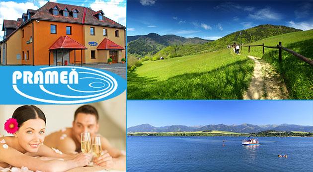 Fotka zľavy: Užite si tú pravú slovenskú dovolenku na krásnom Liptove v Penzióne Prameň už od 42 € s raňajkami na 3 alebo 4 dni, na výber i variant s wellness. Nádherná príroda a skvelé možnosti na turistiku!