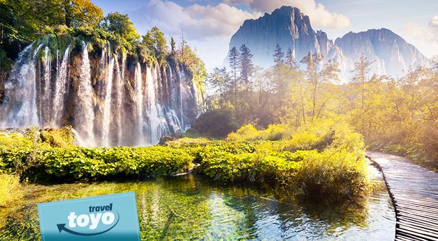 Fotka zľavy: Spoznajte priezračné Plitvické jazerá s desiatkami vodopádov a krásy večerného Záhrebu len za 51 € v rámci víkendového zájazdu s CK Toyo Travel s dopravou luxusným autobusom a sprievodcom.