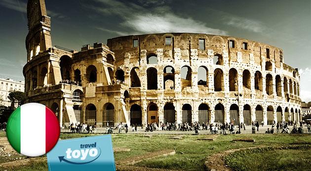 Fotka zľavy: Staňte sa na 5 dní Rimanom - objavujte a obdivujte večné mesto s CK Toyo Travel za najlepšiu cenu na trhu - 165 €, ktorá zahŕňa aj dopravu, ubytovanie s raňajkami a služby sprievodcu!