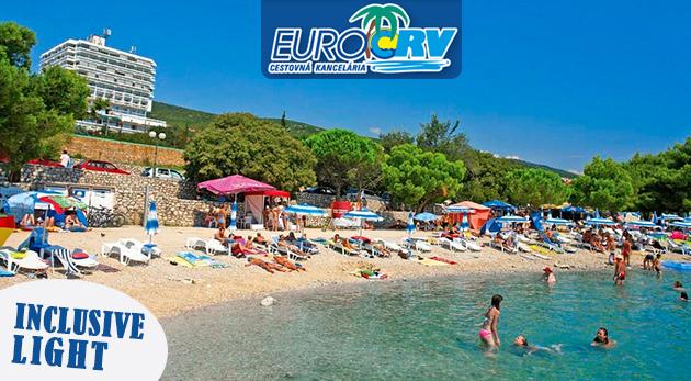 Fotka zľavy: Letná dovolenka v horúcom auguste v chorvátskej Crikvenici v pavilónoch Omorika len za 280 €. V cene ubytovanie na 8 dní aj inclusive light! Navyše dieťa do 7 rokov zdarma.