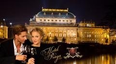Zľava 70%: Nasajte pražskú atmosféru v historickom Hoteli PRAGA 1885****  už od 45,90 € s raňajkami pre dvoch. Variant aj s romantickou večerou či fľašou vína alebo sektu. Spoznajte krásy českej metropoly!