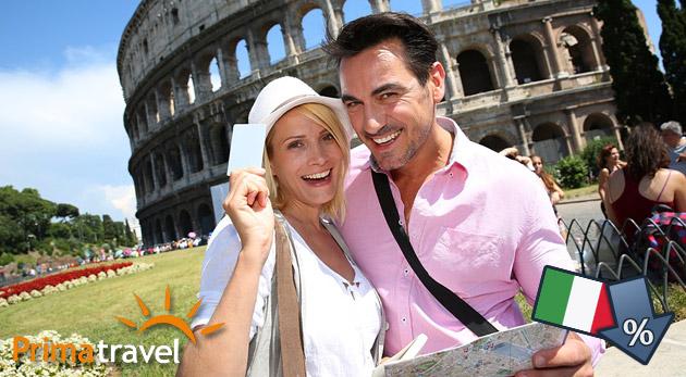 Fotka zľavy: Prehliadnite si úchvatné nádhery večného mesta Rím a relaxujte pri mori! 5-dňový zájazd do Talianska len za 169 € vrátane dopravy, ubytovania v hoteli s raňajkami a služieb sprievodcu.