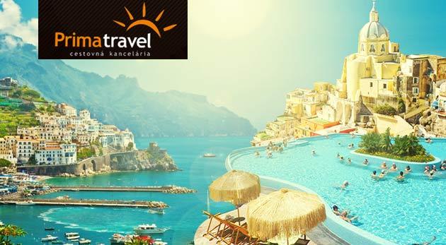Fotka zľavy: Spoznajte krásou preslávené talianske pobrežie Amalfi, termálny ostrov Ischia a čarovný ostrov Procida. 5-dňový zájazd s CK Prima Travel len za 199 € s dopravou, ubytovaním v hoteli a s raňajkami.