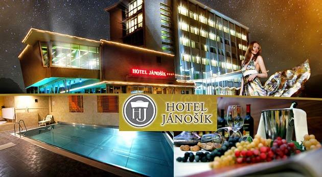 Fotka zľavy: Relaxačné 3 alebo 4 dni v Hoteli Jánošík**** v Liptovskom Mikuláši už od 129 € pre dvojicu so skvelou polpenziou a wellness. Doprajte si komfortnú a štýlovú dovolenku v srdci Liptova!