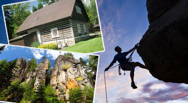 Fotka zľavy: Rodinný výlet do lona prírody na 3, 4 alebo 6 dní s polpenziou a ubytovaním v moderných chatkách Zděřina pri Adršpachu už od 48€. Naberte stratenú energiu v tichu a zeleni!