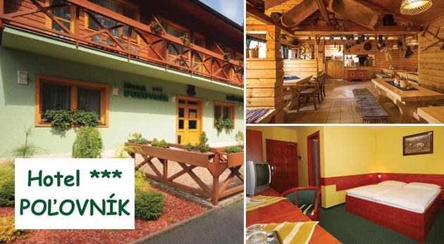 Fotka zľavy: Užite si čistý horský vzduch a malebné prostredie Demänovskej doliny počas 3 dní v Hoteli Poľovník*** už od 98 € pre dvoch s raňajkami, jazdou na bobovej dráhe, skvelými zľavami a možnosťou wellnessu.