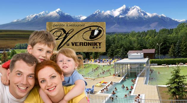 Fotka zľavy: Rodinná pohodička v útulnom Penzióne u Veroniky v Ždiari len za 65 € na 3 dni s polpenziou, zľavami do aquaparku či na splav Dunajca. Deti do 3 rokov zadarmo!