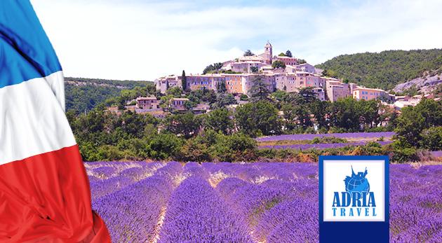 Fotka zľavy: Spoznajte čarovné južné Francúzsko zahalené do omamnej vône levandule - 6-dňový zájazd do malebného Provensálska s návštevou Marseille, Carcassonne či Avignonu len za 259 € s ubytovaním a raňajkami.
