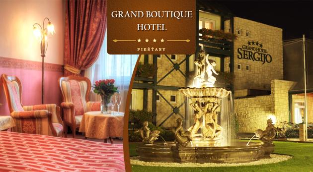 Fotka zľavy: Posilnite vašu lásku v GRAND HOTELI SERGIJO**** počas 3-dňového pobytu s romantickou večerou i s ďalšími skvelými bonusmi v rámci kupónu len za 122€!