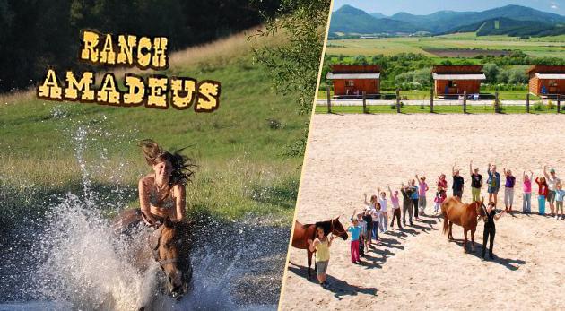 Fotka zľavy: Jedinečná vidiecka dovolenka uprostred krásnej prírody Turca - Ranch Amadeus s ubytovaním v chatkách len za 89 € na 3 dni pre dvoch s polpenziou, jazdou na koni či štvorkolke. Bonus: 3. noc zadarmo!
