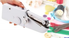 Zľava 60%: Handy Stitch - šikovný šijací stroj do ruky len za 7,90 € - vhodný aj pre ľudí bez skúsenosti so šitím. Ľahko s ním zvládnete opravy rôznych materiálov i vytváranie kreatívnych textilných doplnkov!