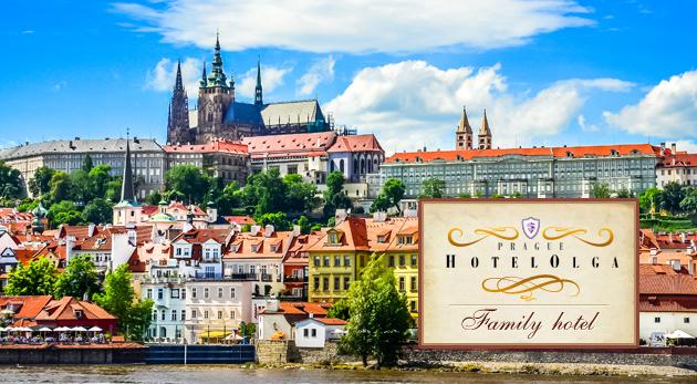 Fotka zľavy: Príjemné 2 alebo 3 dni v Hoteli Olga*** neďaleko centra kúzelnej Prahy už od 42 € vrátane raňajok a zľavy do írskej reštaurácie.