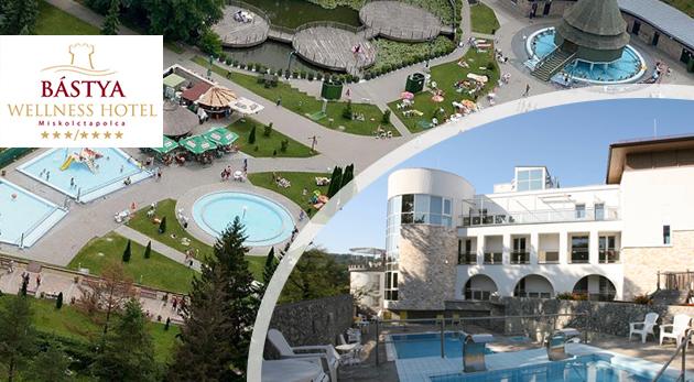 Fotka zľavy: Úžasný 3-dňový relax v Bástya Wellness Hoteli*** pri známych maďarských jaskynných kúpeľoch len za 103 € pre dvoch vrátane polpenzie či voľného vstupu do wellness.