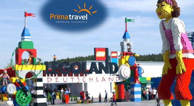 Fotka zľavy: Navštívte európske metropoly, obdivujte svetoznáme stavby, spustite sa na 18-metrovej horskej dráhe na jedinom zájazde - vyberte sa do sveta z lega, do Legolandu s CK Prima Travel len za 59€!