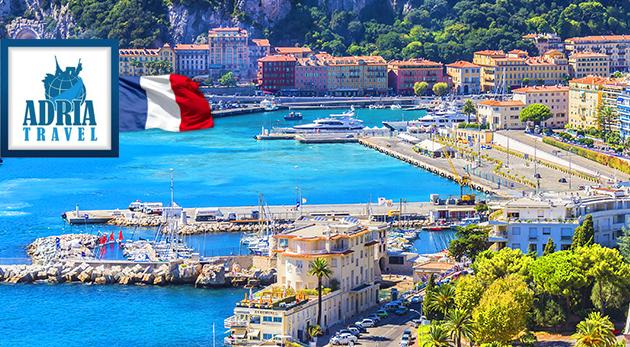 Zľava  Hviezdny Cannes, slnkom zaliate Nice