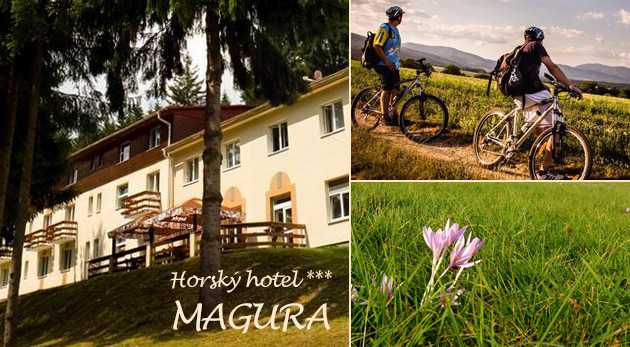 Fotka zľavy: Horský hotel Magura*** - čarovné 3 alebo 4 dni v malebnom prírodnom prostredí Strážovských vrchov už od 72 € pre dvoch vrátane chutnej polpenzie, sauny, vírivky či voľného vstupu do fitness!