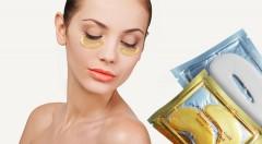 Zľava 40%: Kolagén a 24-karátové zlato - tajomstvo krásnej pleti a dokonalých pier. Vyskúšajte kolagénovú masku pod oči a na pery už od 2,99€. Na výber aj balenie oboch produktov!