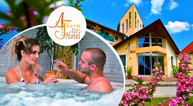 Fotka zľavy: Úžasné 4 dni v opatere maďarského AquaTherm Hotela*** pri Balatone iba za 84 €. Doprajte si naozajstný relax s neobmedzeným wellness, chutnou polpenziou a ďalšími skvelými zľavami v cene.
