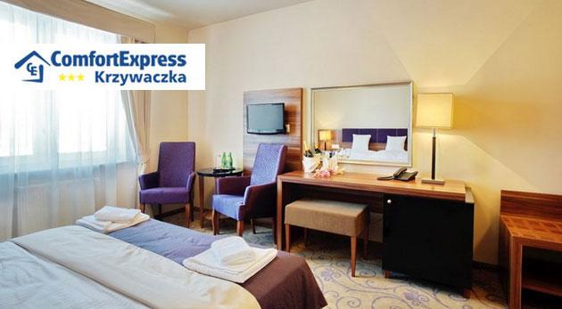 Fotka zľavy: Urobte si výlet na 3 alebo 4 dni do okúzľujúceho Poľska - privíta vás moderný hotel Comfort Express*** blízko Krakova a soľnej jaskyne Wieliczka už od 70 € pre dvoch s raňajkami a večerou.