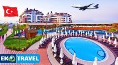 Zľava 37%: Doprajte si 8 dní v znamení luxusu 5* hotela Sherwood Dreams Resort v tureckom Beleku - letecký zájazd len za 399 € s polpenziou, letenkou, letiskovými poplatkami a prehliadkami starobylých miest!