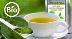 Zľava 52%: Spoznajte blahodarné účinky zeleného čaju cisárov a mníchov - 100% BIO MATCHA premium organic pure v 30 g balení iba za 5,99 € vrátane poštovného a balného.