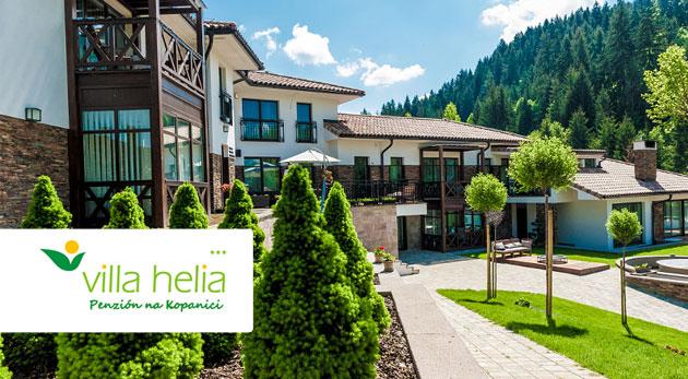 Fotka zľavy: Relax na 3 dni v penzióne Villa Helia*** už od 49 € s privátnym wellness a ubytovaním v modernom apartmáne pre 4 osoby alebo v dvojlôžkovej izbe.