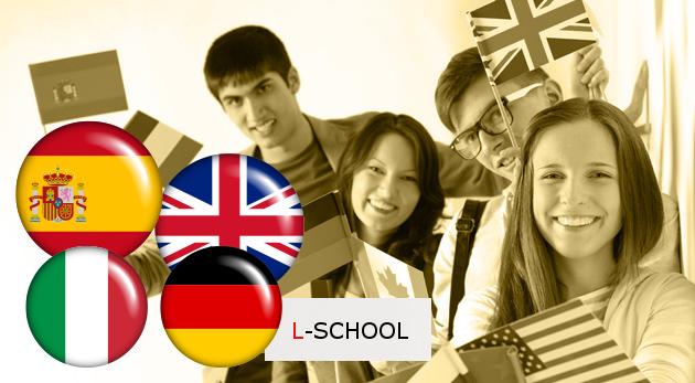 Zľava 49%: Naučte sa anglicky, nemecky, španielsky či taliansky vďaka lákavým jazykovým kurzom iba za 27,90 € v jazykovej škole L-school v Bratislave. V jednej skupine max. 5 - 8 študentov!