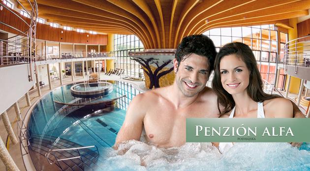 Fotka zľavy: Oddýchnite si pri slovenskom Mŕtvom mori! Relax v Penzióne Alfa v Podhájskej už od 59 € pre 2 či 3 osoby so skvelými zľavami do Rímskych kúpeľov! V ponuke aj výhodné kupóny na 7 nocí alebo pre rodiny!