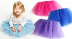 Zľava 78%: Rozžiarte očká vašej malej princeznej vďaka TUTU sukničke len za 3,99 €. Vhodná na balet aj na každodenné nosenie!