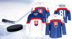 Zľava 32%: Slovenské hokejové dresy s možnosťou vytlačenia mena a čísla už od 28,90 €. Na výber i kvalitný kompletne vyšívaný dres. Pripravte sa na blížiaci sa šampionát a fandite s hrdosťou našim hokejistom!