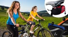 Zľava 45%: S praktickými taškami na bicykel už od 9,90 € budete mať všetky svoje nevyhnutné drobnosti pri sebe aj počas šliapania do pedálov. Na výber v rôznych tvaroch aj farbách.