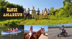 Zľava 31%: Letný westernový tábor pre deti na Ranchi Amadeus iba za 169 € - 8 dní s jazdou na koni, štvorkolke, splavom na kanoe či lukostreľbou. Doprajte svojim ratolestiam nezabudnuteľné prázdniny!
