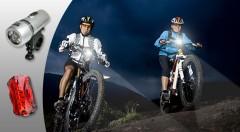 Zľava 73%: Sada svetiel na bicykel - predné a zadné alebo mini silikónové osvetlenie len za 2,99 €. Dbajte na svoju bezpečnosť a pripravte sa na cyklistickú sezónu!