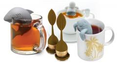 Zľava 71%: Rozkošné sitká pre spríjemnenie vašich čajových seansí len za 2,90 €. Vyberte si panáčika, milého žraloka, zvedavého tuleňa alebo elegantný čajový lístok, vďaka ktorým bude váš nápoj o čosi chutnejší!