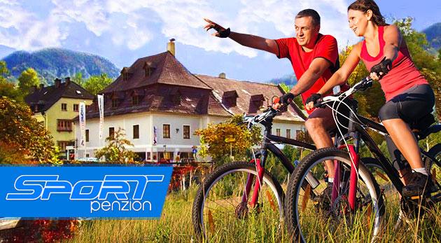 Fotka zľavy: Letná alpská dovolenka v českom Penzióne Sport Alpy na 3 dni s raňajkami iba za 91 € pre dvoch pod majestátnymi rakúskymi veľhorami. Využite bohaté možnosti na turistiku, šport, rafting či kúpanie!
