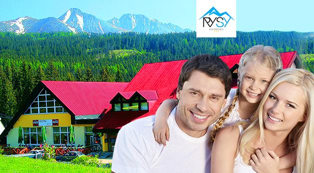 Fotka zľavy: Doprajte si ten správny detox v obľúbenom Hoteli Rysy*** vo Vysokých Tatrách už od 99 € pre dvoch. Zažite 3 alebo 4 dni s polpenziou, wellness a panorámou našich veľhôr. Dieťa do 15 rokov zadarmo!