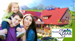 Zľava 34%: Príjemný jarný relax v malebnej goralskej obci Ždiar - strávte krásne 3 alebo 4 dni v Penzióne Ždiar pod Tatrami už od 34 € vrátane polpenzie, welcome drinku, masážneho kresla a zľavového balíčka.