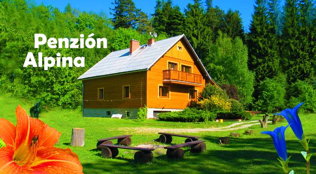 Fotka zľavy: Pobyt pre športovcov aj milovníkov prírody - Penzión Alpina v Beskydách na 3 dni pre dvoch za 61 € s požičaním bicyklov a kolobežiek.