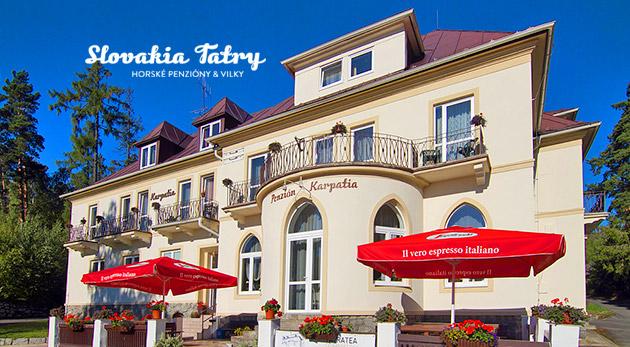 Fotka zľavy: Načerpajte novú silu vo Vysokých Tatrách v Penzióne Karpatia
