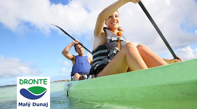 Fotka zľavy: Splav plný zážitkov s možnosťou výberu rôznych trás už od 5,99 € - obdivujte nádhernú prírodu v okolí Malého Dunaja z kanoe alebo katamaránu. Vhodné i pre rodinky a ľudí bez skúseností s pádlovaním!