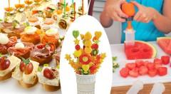 Zľava 67%: Vytvárajte originálne jednohubky, ovocie či iné pochutiny s praktickou sadou na výrobu kreatívneho občerstvenia len za 4,99 €.